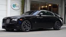 Chạm mặt 'hàng độc' Rolls-Royce Wraith Black Badge tại Hà Nội