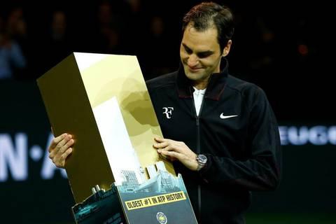 Clip khoảnh khắc Federer trở lại ngôi số 1 thế giới