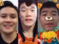 Thích thú với clip chúc Tết của U23 Việt Nam Tiến Dũng, Quang Hải và Đức Chinh