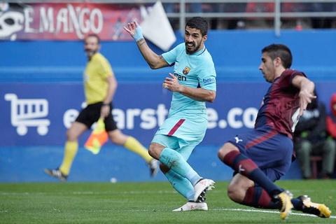Video bàn thắng Eibar 0-2 Barcelona