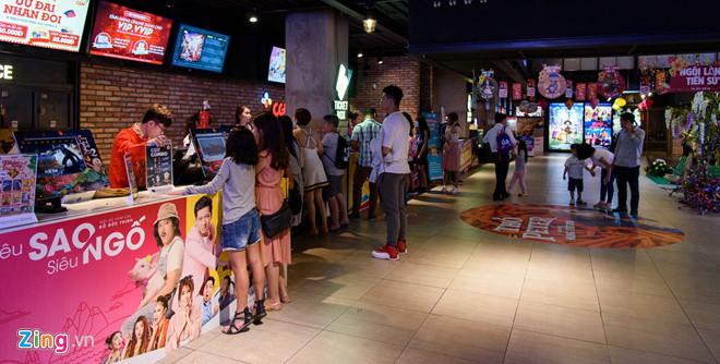 Rạp chiếu phim ở Sài Gòn vắng khách vào ngày Tết
