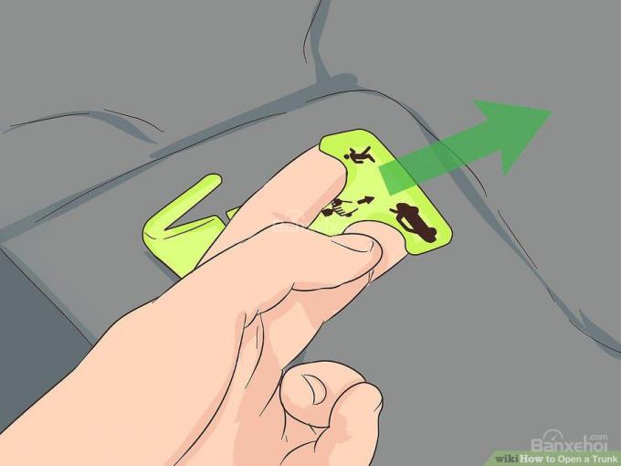 Cách mở cốp xe ô tô khi bị mất chìa khóa