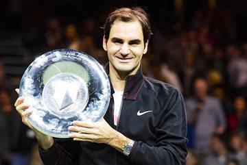 Federer mừng ngôi số 1 ATP bằng chức vô địch Rotterdam Open