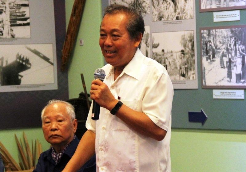 Phó Thủ tướng Trương Hòa Bình dự họp mặt chiến sĩ cách mạng bị địch bắt tù đày