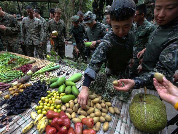 Lính Mỹ,uống máu rắn,Thái Lan,Hổ Mang Vàng
