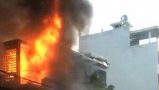Căn nhà 2 tầng vắng chủ cháy ngùn ngụt ngày mùng 5 Tết