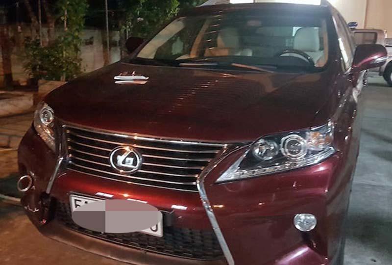 Công an vào cuộc điều tra vụ nhân viên khách sạn truy đuổi 2 thanh niên lái xe Lexus gây náo loạn