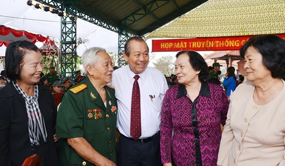 Nguyễn Thị Quyết Tâm,họp mặt truyền thống,Sài Gòn,Chợ Lớn,Gia Định,kháng chiến
