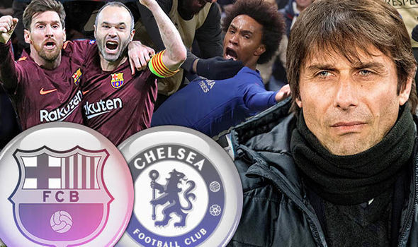 Conte tiếc đứt ruột khi Messi phá lưới Chelsea