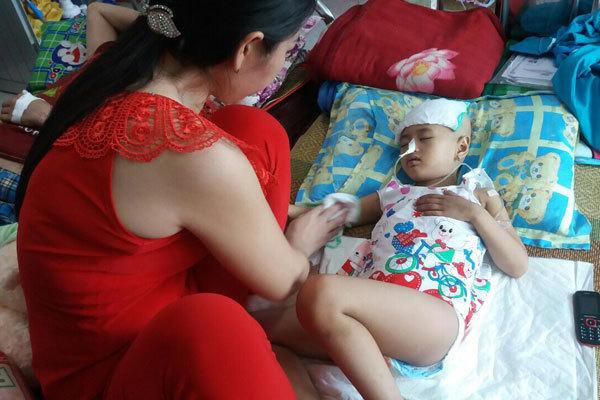 ung thư,ung thư buồng trứng,hoàn cảnh khó khăn,bạn đọc ủng hộ,từ thiện vietnamnet