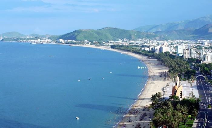 dự án lấn biển,vịnh Nha Trang,băm nát quy hoạch,vi phạm thi công
