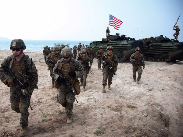 Thái Lan,tập trận,tập trận Hổ Mang Vàng,lính Mỹ