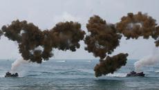 Xem lính Mỹ tập trận tấn công đổ bộ ở Thái Lan0