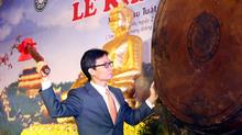 Khai hội chùa Bái Đính cầu cho 'quốc thái, dân an'