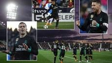 Real Madrid đại thắng trong ngày vắng Ronaldo