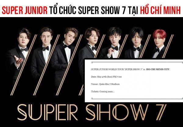 Fan Việt sôi sục vì thông tin Super Junior trở lại Việt Nam