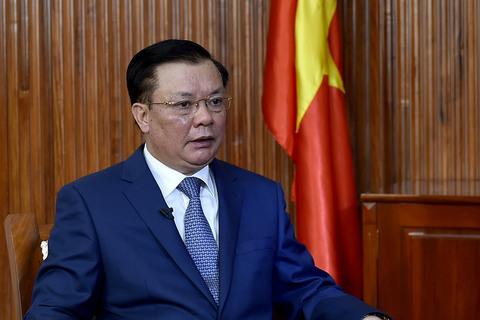 GNT Bộ trưởng Đinh Tiến Dũng