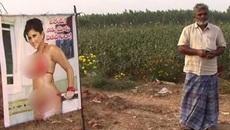 Dùng ảnh 'thánh nữ' phim khiêu dâm để xua trộm0