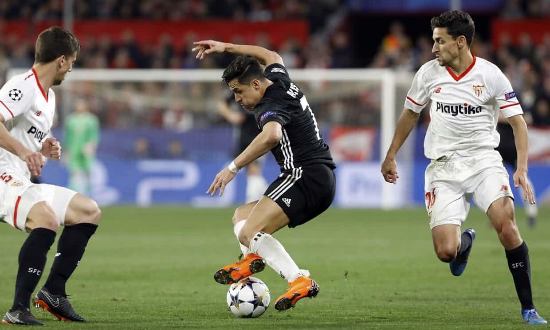 MU,Mourinho,Sevilla,De Gea,Champions League,Cúp C1