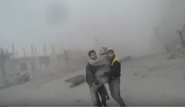 Mưa bom dội xuống 'địa ngục trần gian' ở Syria