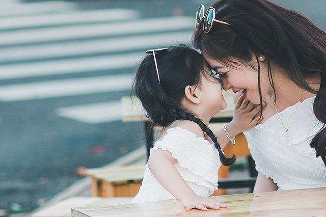 Bộ ảnh đẹp,Mẹ và con