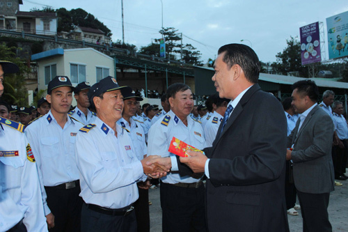 Yến sào Khánh Hòa tổ chức lễ ra quân đầu năm