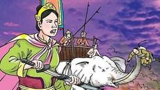 Nữ đô đốc Bùi Thị Xuân từng chém bay đầu viên tướng Xiêm nào?