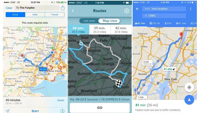 Google Maps,ứng dụng chỉ đường