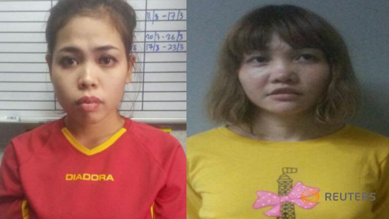 Nghi phạm giết 'Kim Jong Nam' từng tham gia nhiều trò chơi khăm