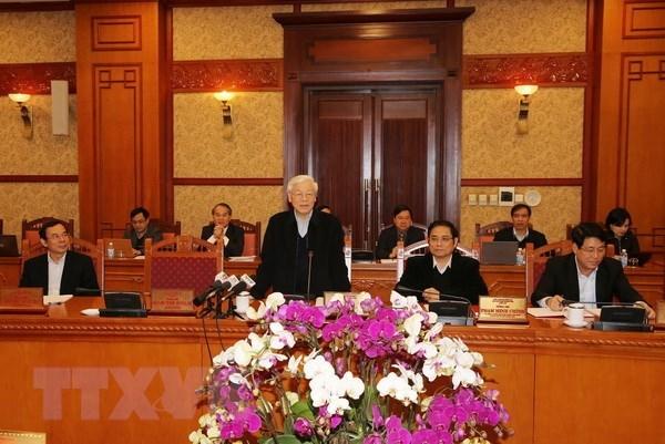 Ban Bí thư,Tổng Bí thư Nguyễn Phú Trọng,Nguyễn Phú Trọng