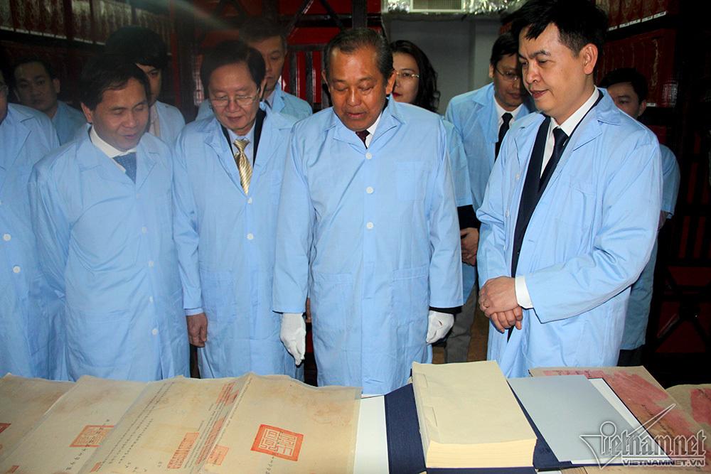 Phó Thủ tướng Thường trực Trương Hòa Bình,Trương Hòa Bình,Văn thư lưu trữ