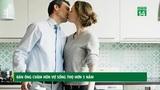 Đàn ông chăm hôn vợ có thể sống thọ hơn 5 năm