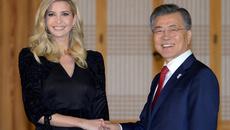 Hình ảnh Ivanka Trump xinh đẹp thăm Hàn Quốc0