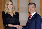 Hình ảnh Ivanka Trump xinh đẹp thăm Hàn Quốc