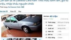 Loạt ô tô cũ chính hãng giá dưới 100 triệu này đang rao bán đầu năm