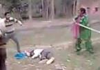 Chồng bị đánh hội đồng, vợ ra tay giải cứu