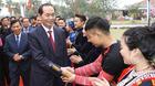 Chủ tịch nước dự ngày hội 'Sắc Xuân trên mọi miền Tổ quốc'