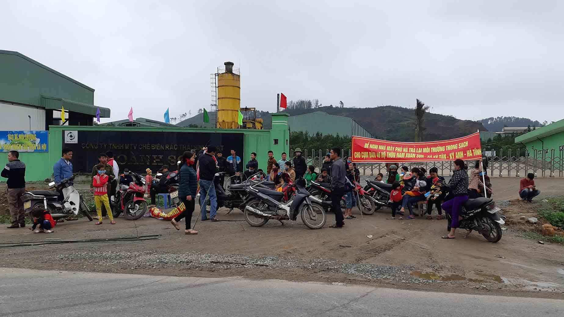 Nhà máy rác Phú Hà,ô nhiễm môi trường,Hà Tĩnh,bãi rác