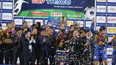 Vượt qua SLNA, Quảng Nam lần đầu đoạt Siêu Cup QG