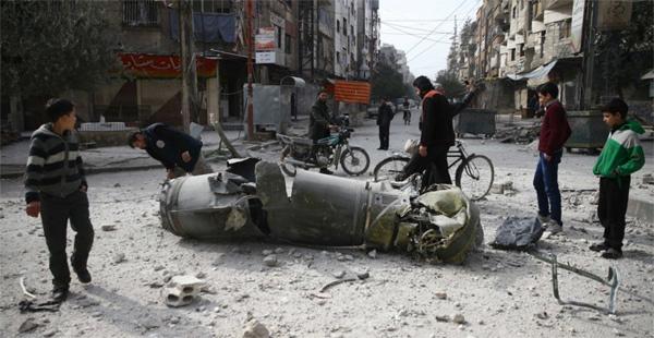 Bức ảnh lột tả nỗi khiếp đảm chiến tranh hàng ngày ở Syria