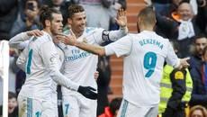 """Ronaldo rực sáng, Real đại thắng """"4 sao"""""""