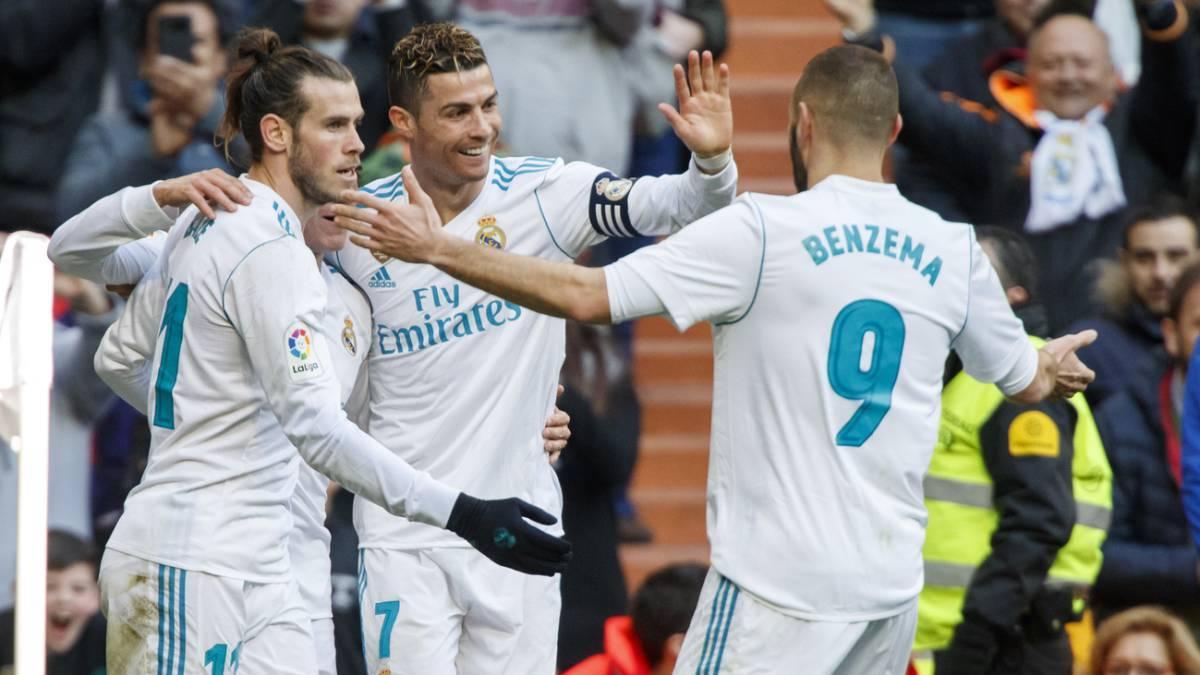 Ronaldo rực sáng, Real đại thắng '4 sao'