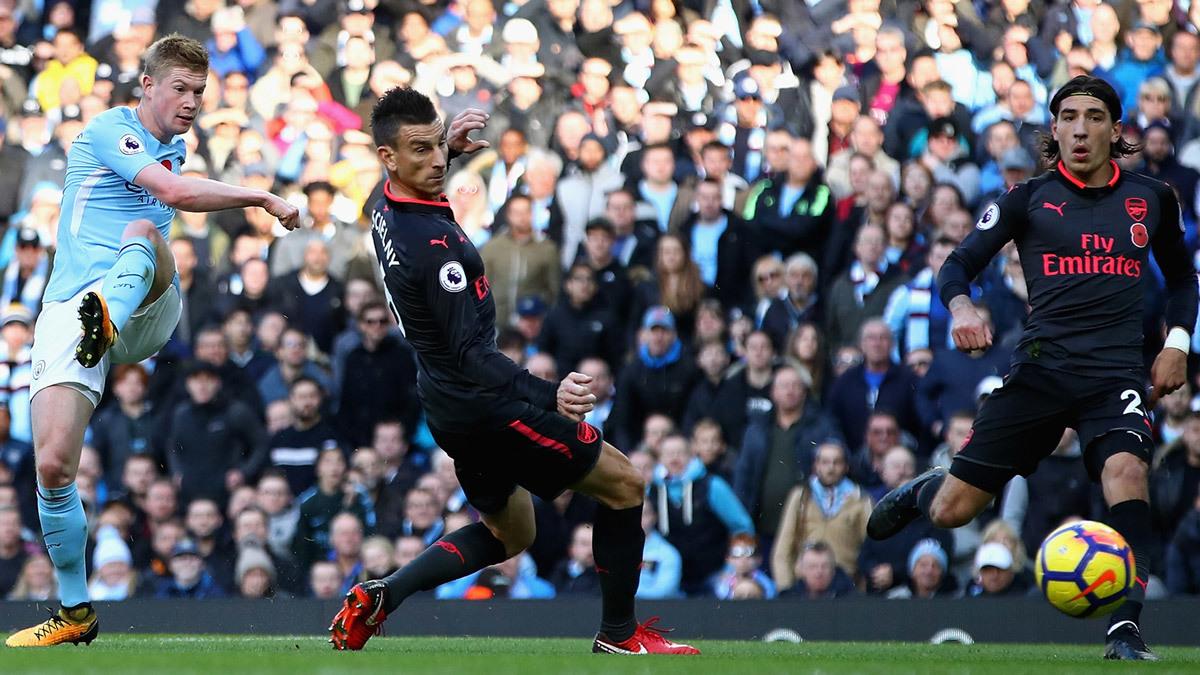 Arsenal vs Man City: Danh hiệu đầu tiên