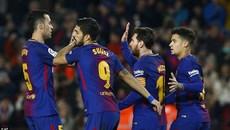 Messi phá liền 2 kỷ lục, Barca thắng kiểu tennis