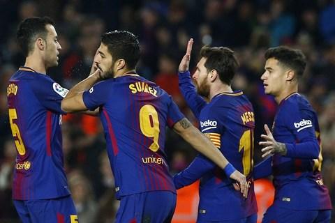 Video bàn thắng Barcelona 6-1 Girona