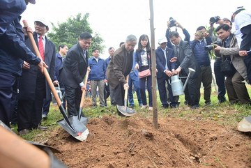 Phát động 'Tết trồng cây đời đời nhớ ơn Bác Hồ' Xuân Mậu Tuất 2018