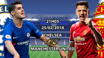 Trực tiếp MU vs Chelsea: Pogba và Alexis Sanchez đá chính