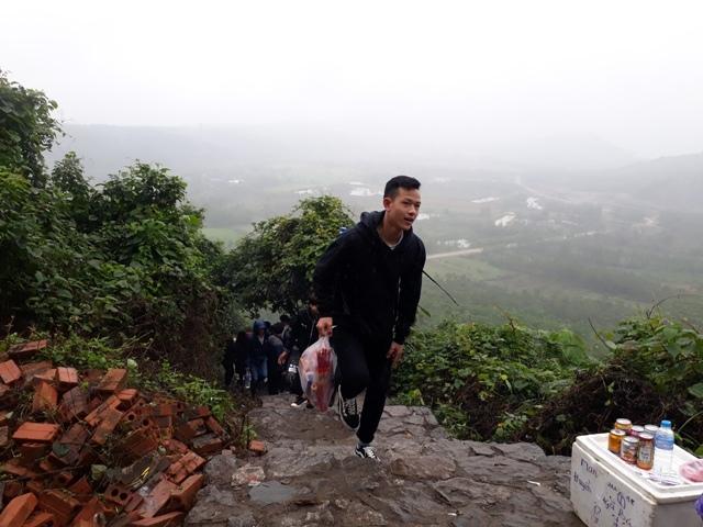 nước thánh,chùa Non,Quảng Bình