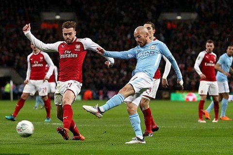 Man City 3-0 Arsenal,