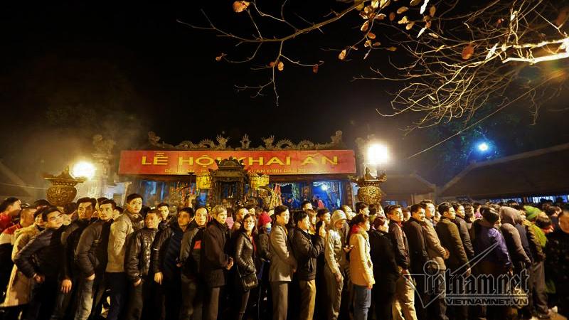 Lễ hội,Xin ấn đền Trần,văn hoá